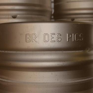 Reservez vos futs de bière la Nestoise Blonde ou Ambrée à la Brasserie des Pics
