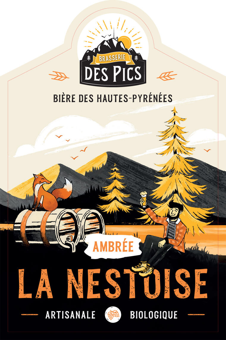 La Nestoise Ambree - Brasserie des Pics