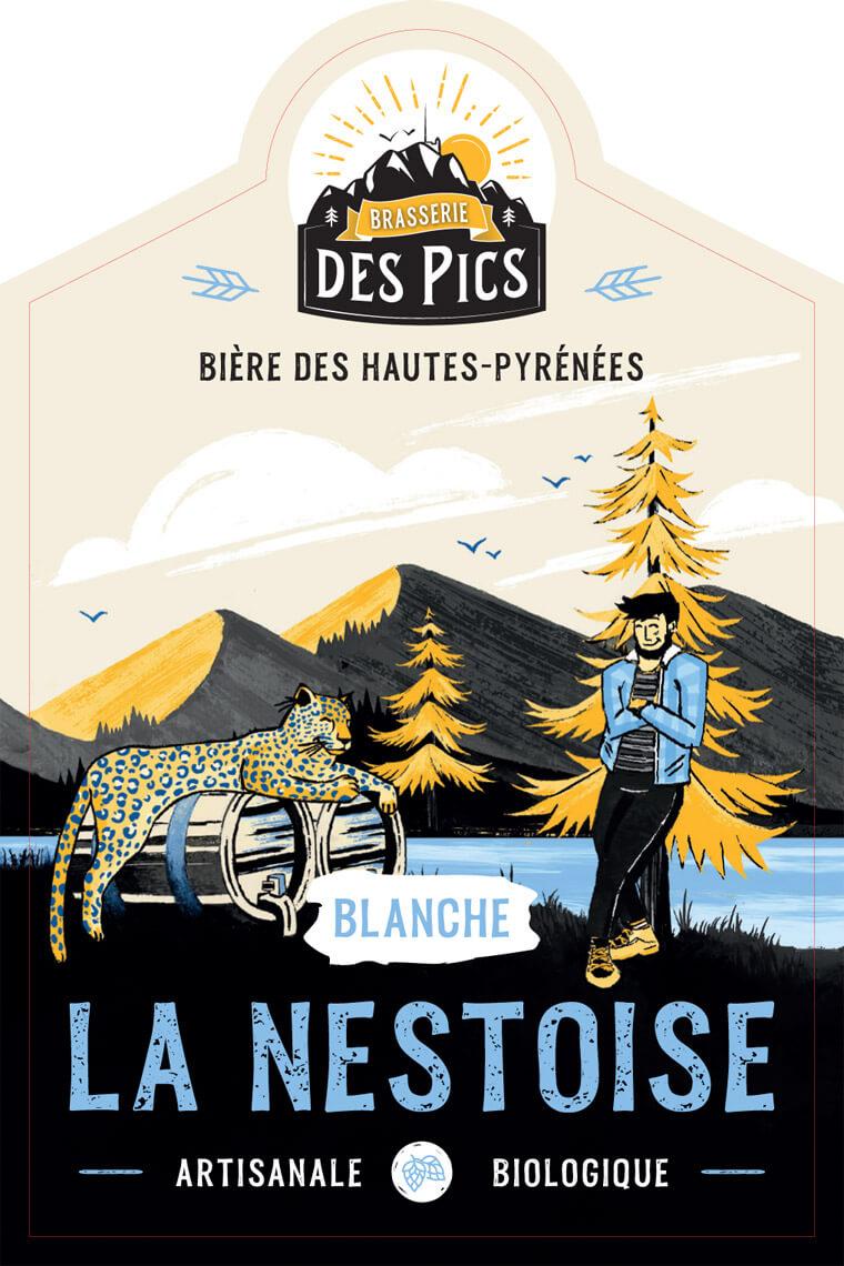 La Nestoise Blanche - Brasserie des Pics