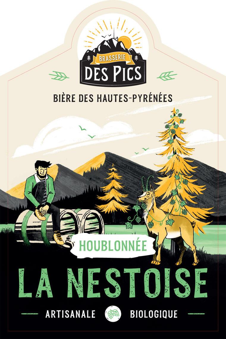 La Nestoise Houblonnée - Brasserie des Pics