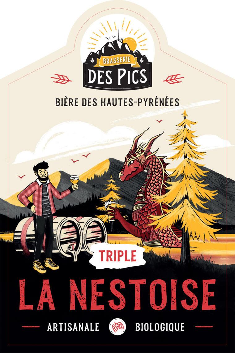 La Nestoise Triple - Brasserie des Pics