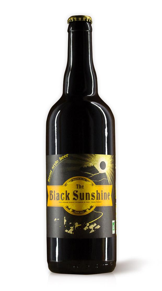 Black Sunshine Stout - Brasserie des Pics