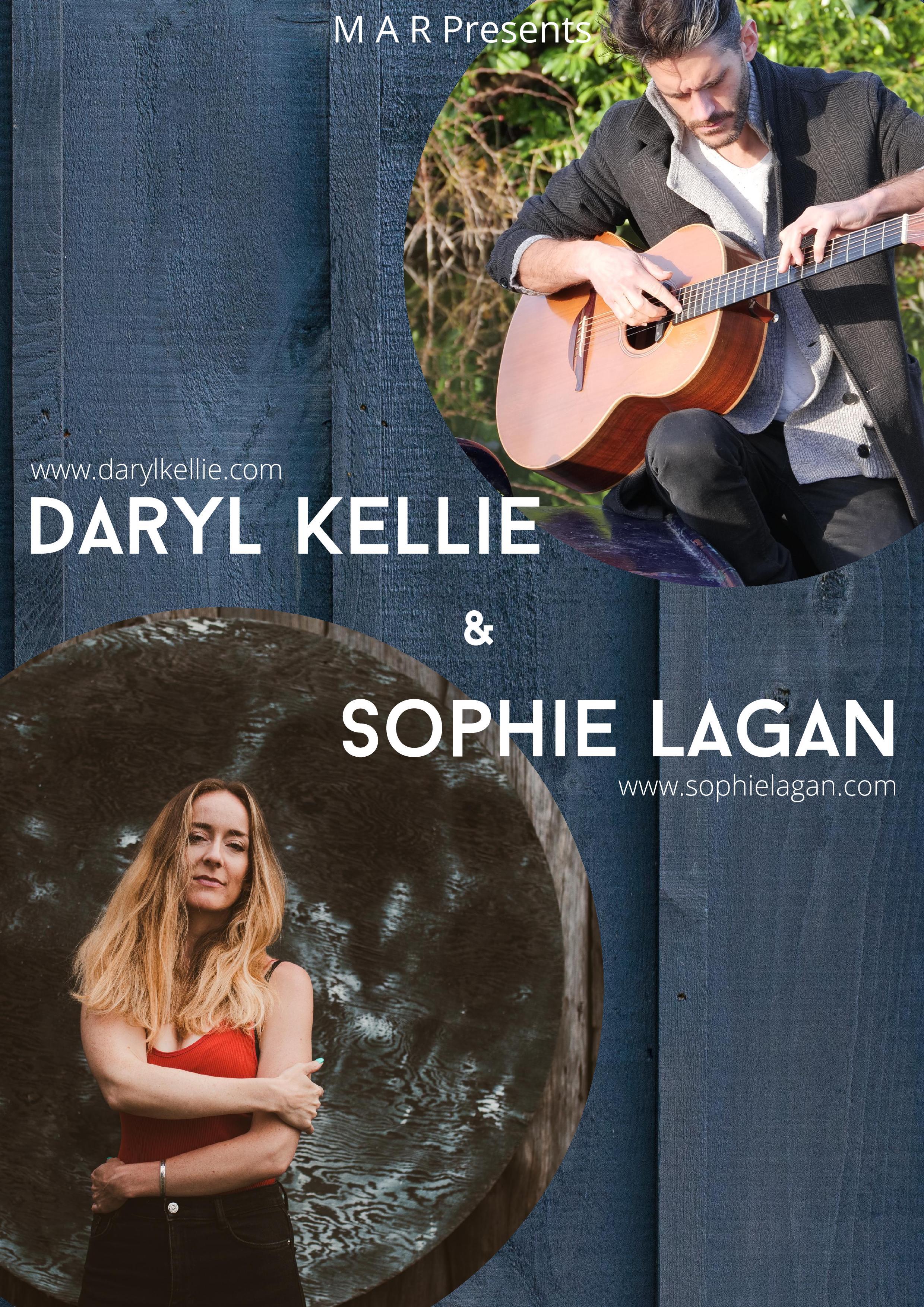 Concert de Daryl Kellie et Sophie Lagan vendredi 21 août